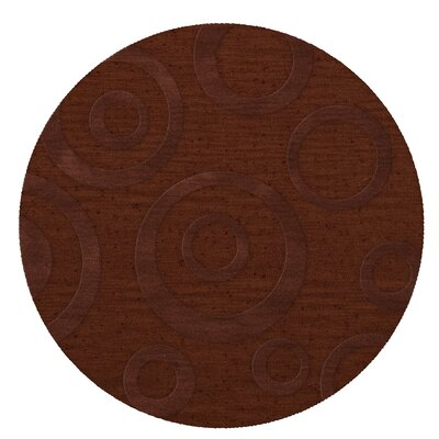 Dover Paprika Area Rug Rug Size: Round 12
