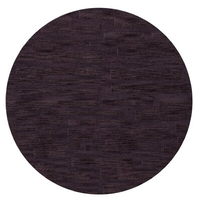 Dover Grape Ice Area Rug Rug Size: Round 12