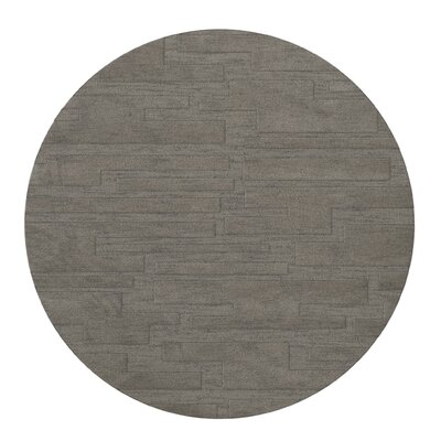Dover Silver Area Rug Rug Size: Round 4