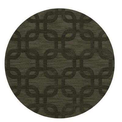 Dover Fern Area Rug Rug Size: Round 10