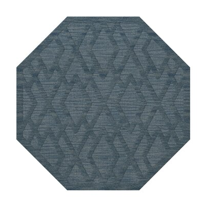 Dover Tufted Wool Sky Area Rug Rug Size: Octagon 10