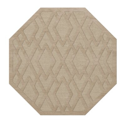 Dover Linen Area Rug Rug Size: Octagon 12