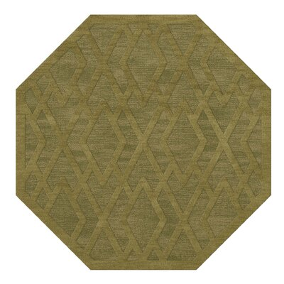 Dover Tufted Wool Pear Area Rug Rug Size: Octagon 8