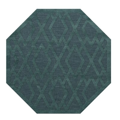 Dover Teal Area Rug Rug Size: Octagon 4