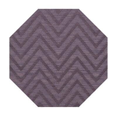 Dover Viola Area Rug Rug Size: Octagon 8