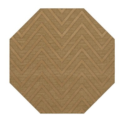 Dover Tufted Wool Wheat Area Rug Rug Size: Octagon 12