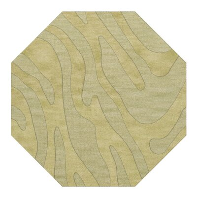 Dover Tufted Wool Mint Area Rug Rug Size: Octagon 6