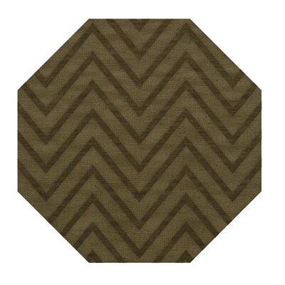 Dover Leaf Area Rug Rug Size: Octagon 8'