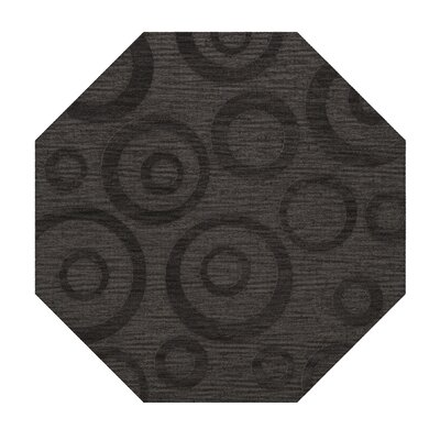 Dover Tufted Wool Ash Area Rug Rug Size: Octagon 12