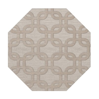 Dover Putty Area Rug Rug Size: Octagon 6