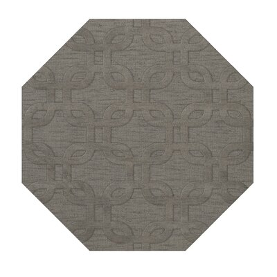 Dover Silver Area Rug Rug Size: Octagon 4