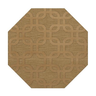 Dover Wheat Area Rug Rug Size: Octagon 10