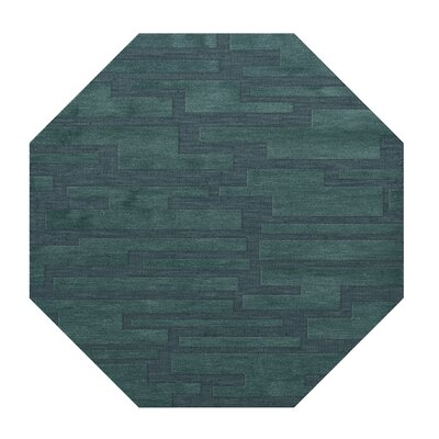 Dover Teal Area Rug Rug Size: Octagon 8