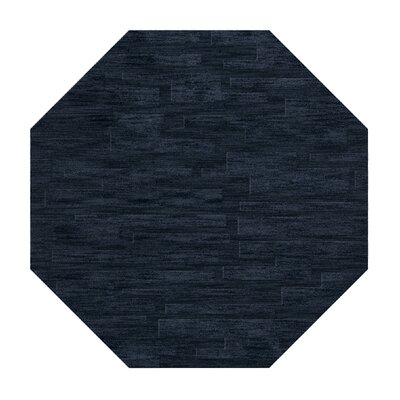 Dover Navy Area Rug Rug Size: Octagon 4