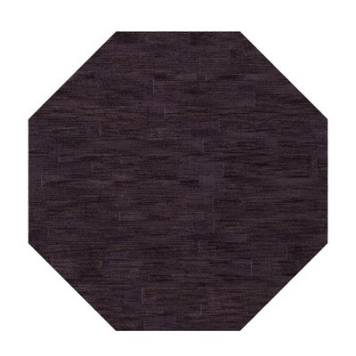 Dover Grape Ice Area Rug Rug Size: Octagon 6