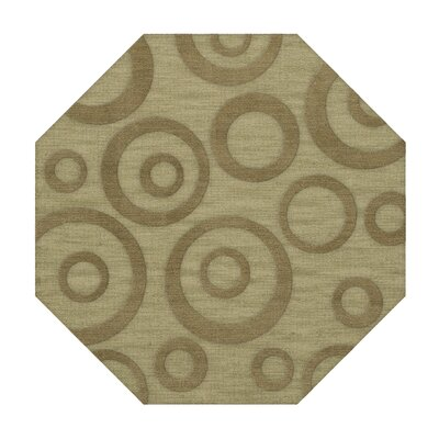 Dover Tufted Wool Marsh Area Rug Rug Size: Octagon 6