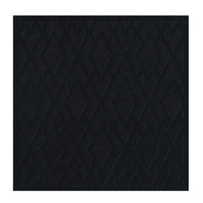 Dover Black Area Rug Rug Size: Square 4