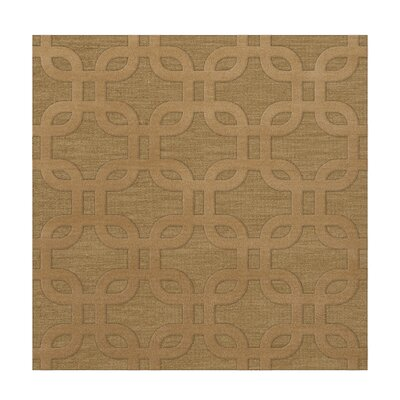 Dover Wheat Area Rug Rug Size: Square 4'