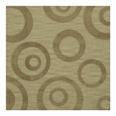 Dover Tufted Wool Marsh Area Rug Rug Size: Square 6