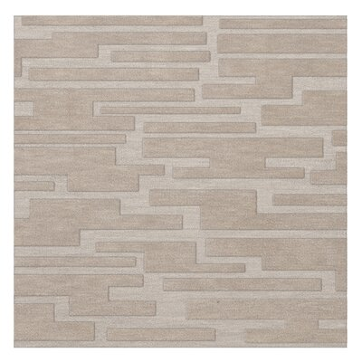 Dover Putty Area Rug Rug Size: Square 12