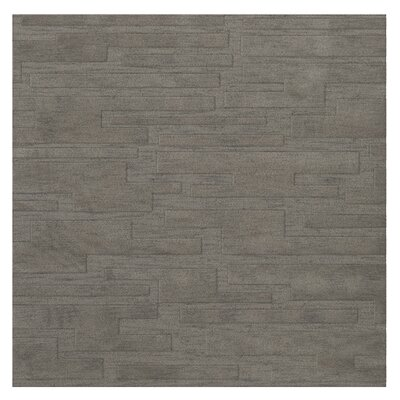 Dover Silver Area Rug Rug Size: Square 12