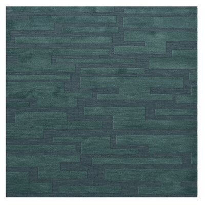 Dover Teal Area Rug Rug Size: Square 12