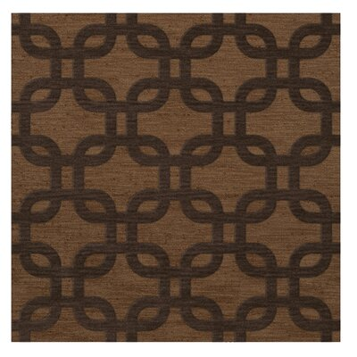Dover Caramel Area Rug Rug Size: Square 12
