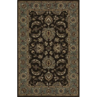 Standish Chocolate Rug Rug Size: 96 x 136