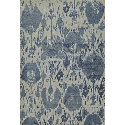 LaTayna Denim Area Rug Rug Size: Rectangle 53 x 77