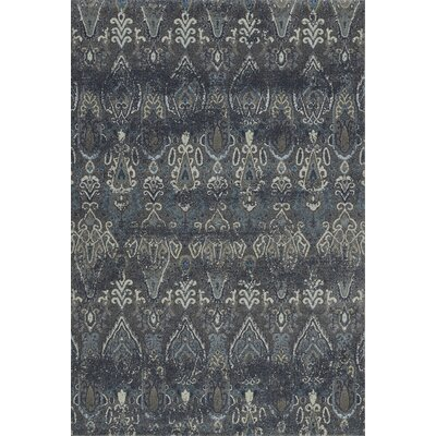 LaTayna Pewter Area Rug Rug Size: Rectangle 53 x 77