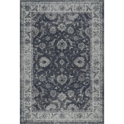 Geneva Dalyn Steel Blue Area Rug Rug Size: 96 x 132