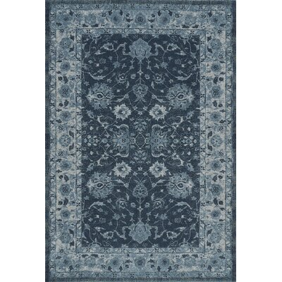 Geneva Dalyn Teal Area Rug Rug Size: Rectangle 53 x 77