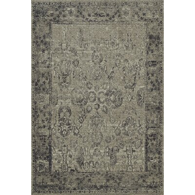 PalmaTaupe Area Rug Rug Size: Rectangle 710 x 107