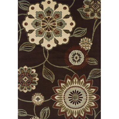 Messina Dalyn Chocolate Area Rug Rug Size: Rectangle 82 X 10