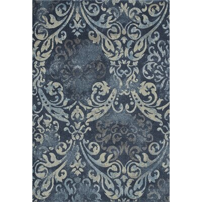 Palma Navy Area Rug Rug Size: Rectangle 96 x 132