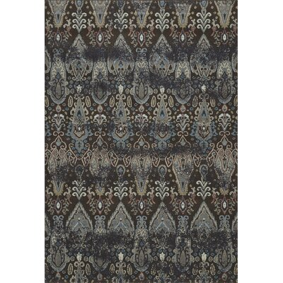 LaTayna Chocolate Area Rug Rug Size: Rectangle 53 x 77