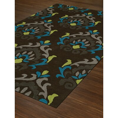 Aloft Fudge Area Rug Rug Size: 36 x 56