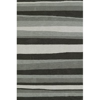 Lorne Charcoal Area Rug Rug Size: Rectangle 36 x 56