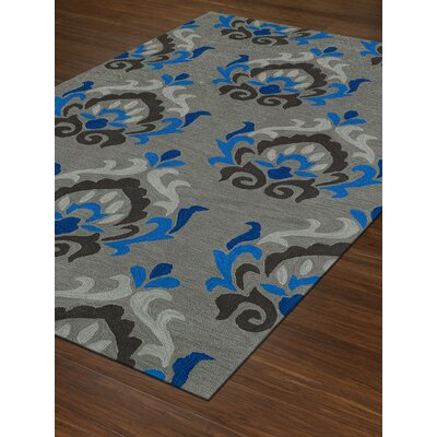 Aloft Silver Area Rug Rug Size: Rectangle 5 x 76