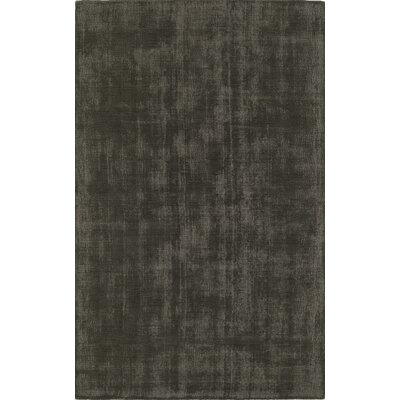 Parker Charcoal Area Rug Rug Size: 36 x 56