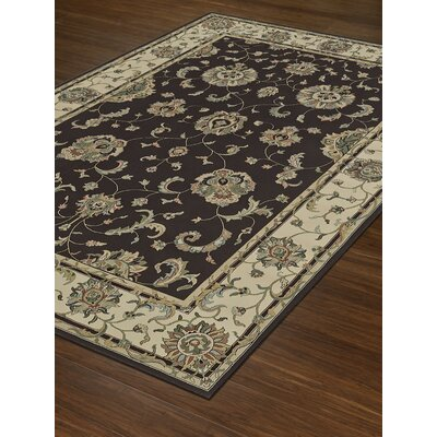 Malta Dalyn Chocol Area Rug Rug Size: Rectangle 53 x 77