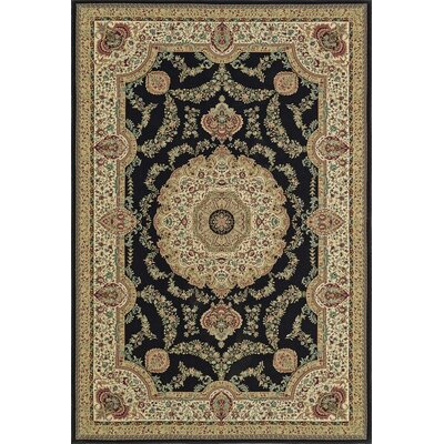 Malta Dalyn Black Area Rug Rug Size: 33 x 51