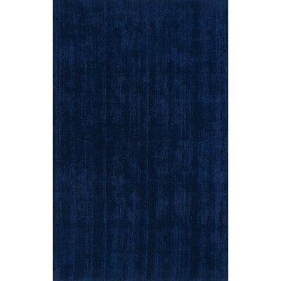 Tasha Navy Area Rug Rug Size: 5 x 76