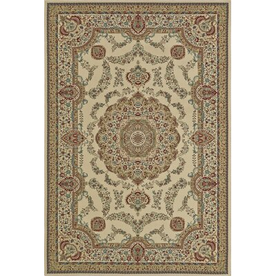 Malta Dalyn Ivory Area Rug Rug Size: Rectangle 53 x 77