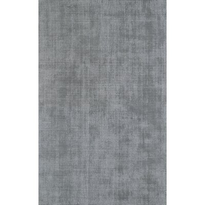 Parker Silver Area Rug Rug Size: 36 x 56