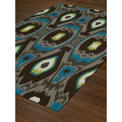 Aloft Fudge Area Rug Rug Size: Rectangle 36 x 56