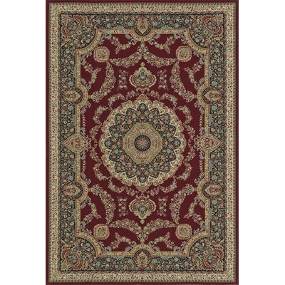 Malta Dalyn Red Area Rug Rug Size: 53 x 77