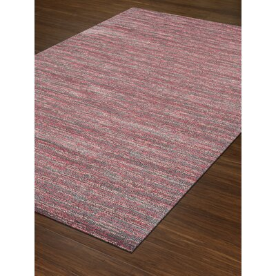 Borgo Pink Area Rug Rug Size: Rectangle 33 x 51