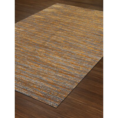 Borgo Tangerine Area Rug Rug Size: Rectangle 710 x 107