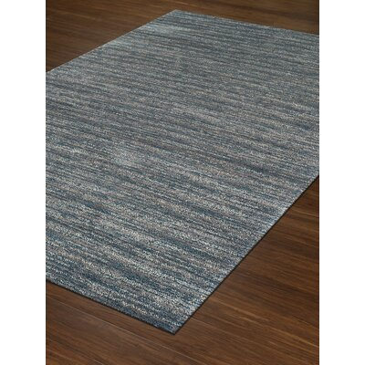 Borgo Teal Area Rug Rug Size: Rectangle 53 x 77